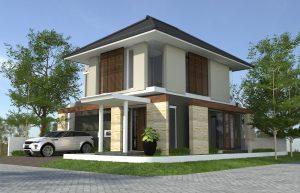 desain, rumah, minimalis
