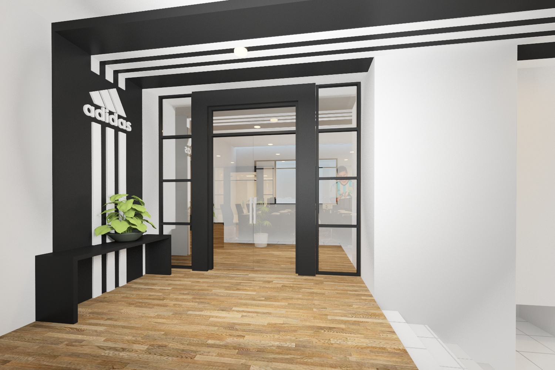 Desain interior- addidas office