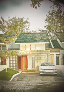desain rumah sederhana 2020
